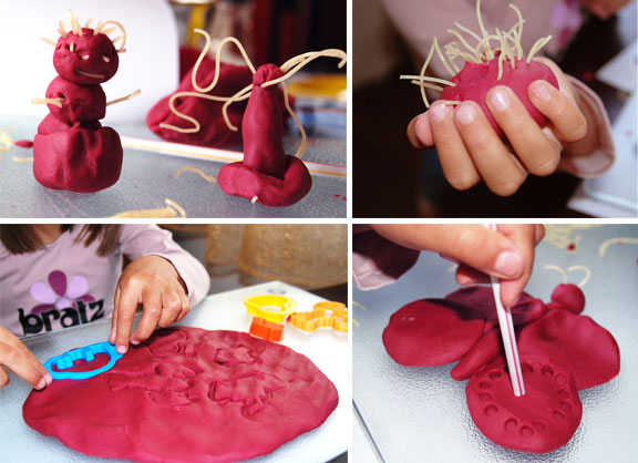 homemade plasticine