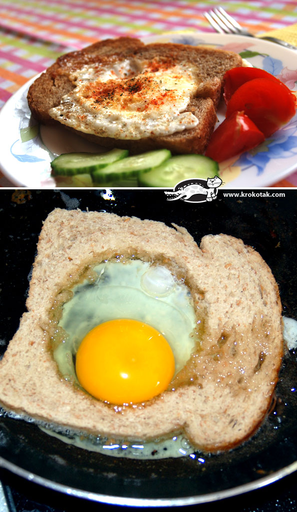 Egg-in-the-HOLE