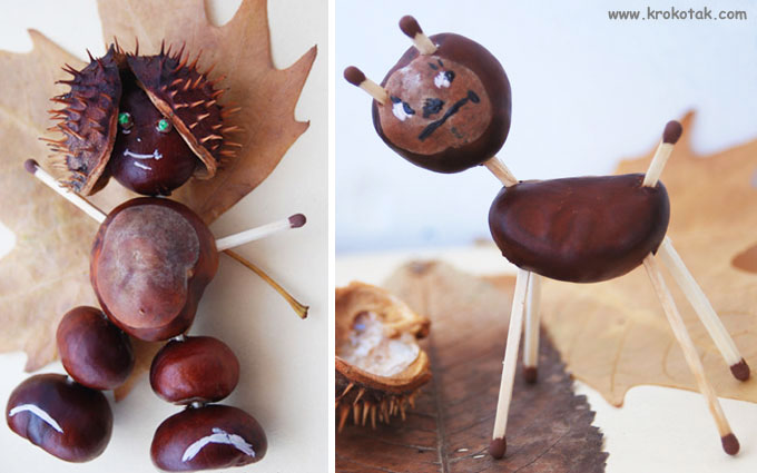 chestnut crafts