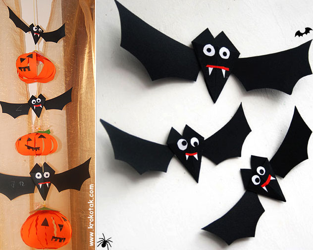 paper bat for halloween