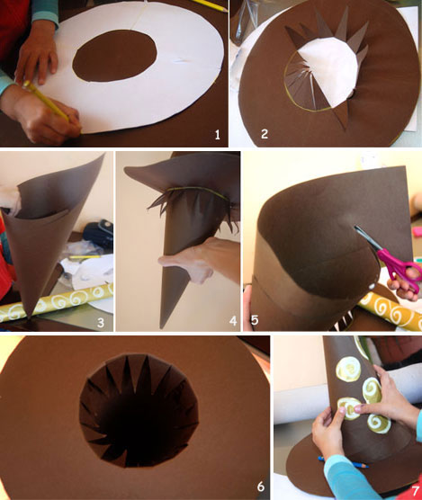 how to make a witch hat for halloween