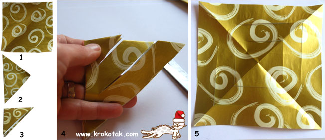 Paper Christmas star