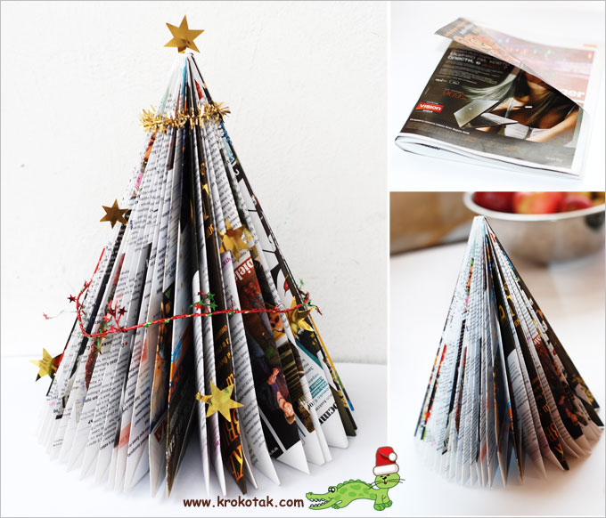 Brochure Christmas tree