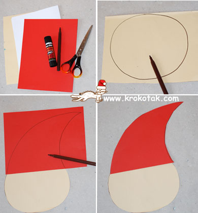 Krokotak A Santa Craft For Kids