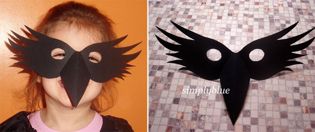 krokotak | CROW MASK for My Little Fledgling