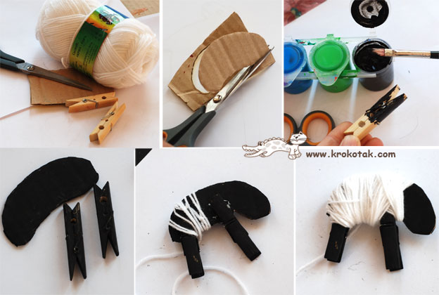 See More Crafty Things To Make With Wooden Clothespins
