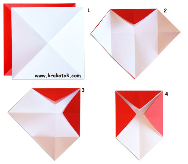 How to Fold a rounded realistic origami mushroom