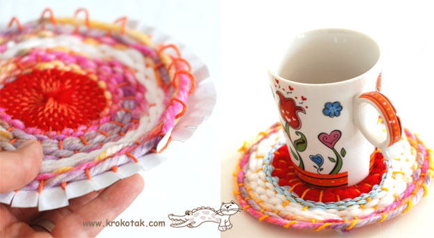 When ...  sc 1 st  krokotak & krokotak | Paper Plate (and Coffee Stick) LOOM
