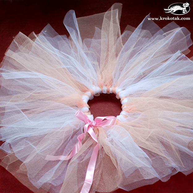 how to make a no sew tutu with ribbon