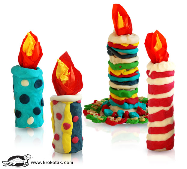 Clay Craft Ideas For Kids Part - 33: Modelling Clay Christmas