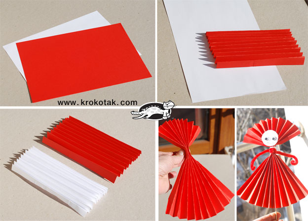 Krokotak 3 Easy Paper Ideas For Baba Marta