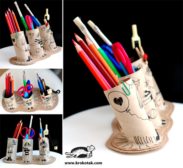 krokotak | Recycled PENCIL HOLDER