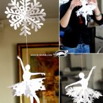 SNOWFLAKE BALLERINAS for Crafty Moms