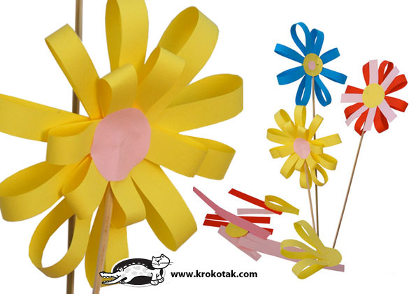 Flower for kids paperflower with flower for kids great rainbow amazing paperflower with flower for kids mightylinksfo