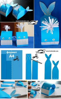 BLUE-WHALE-Paper-Toy