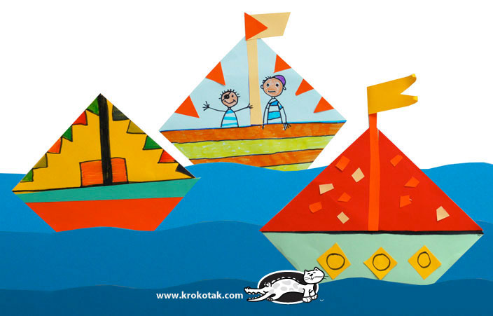 Coloring Pages For Adults Boats : Krokotak boats collage