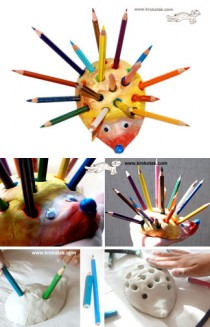 HEDGEHOG-Pencil-Holder
