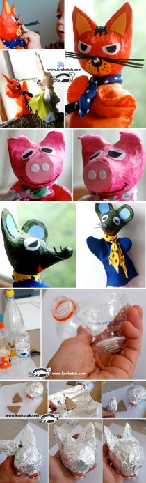 Homemade-PUPPETS