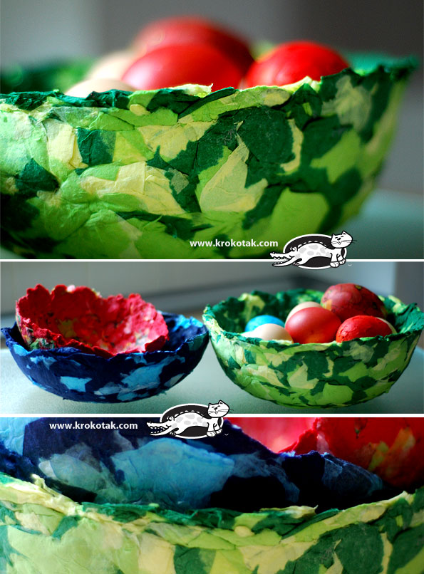 Easy and Impressive NAPKIN PAPER BOWLS