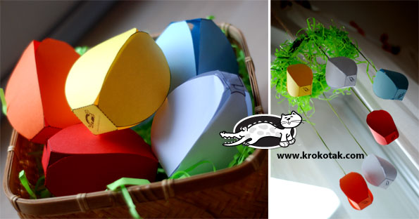 easter paper decoration