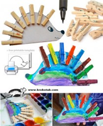Clothespin- kids craft