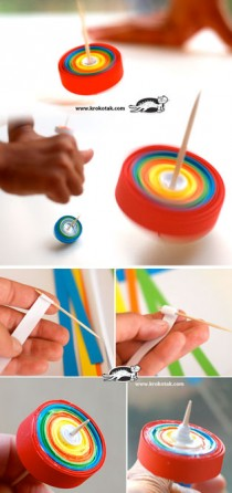 DIY Paper-SPINNER