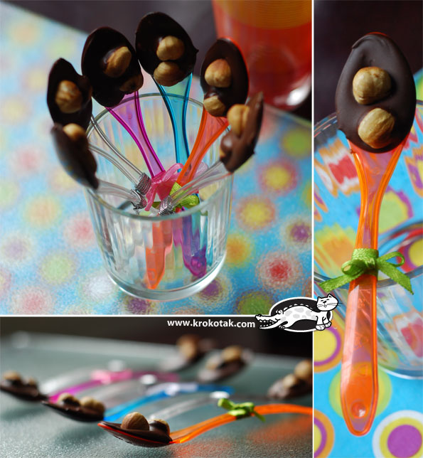 CHOCOLATE SPOONFULS