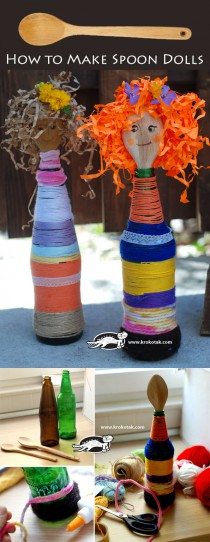 How to Make Spoon Dolls