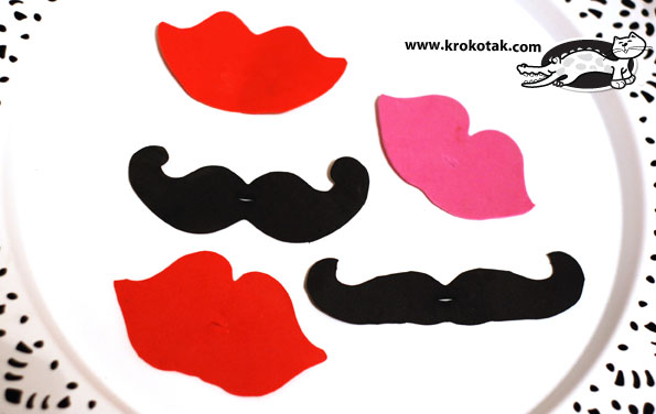wear moustaches at a party:)