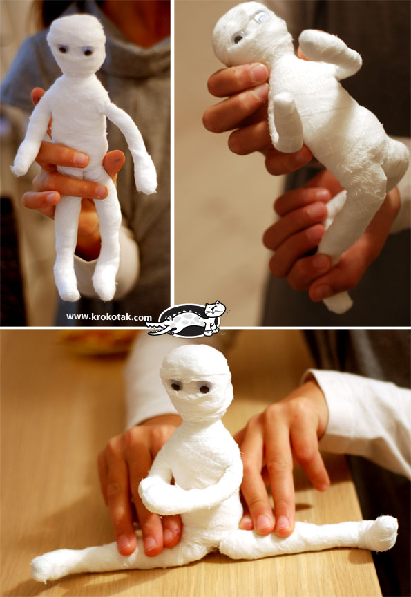 how to make Mummy