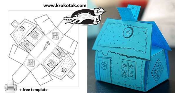 Krokotak A House Box For Small Sweets And Gifts