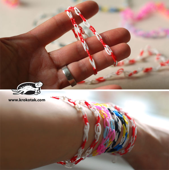 How to make a rubber band bracelet