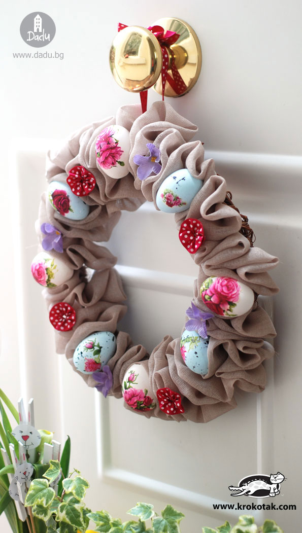 DIY Beautiful Easter wreath