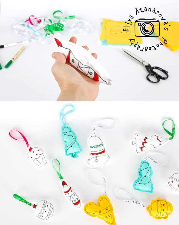 How to make the pretty pictures into Christmas toys