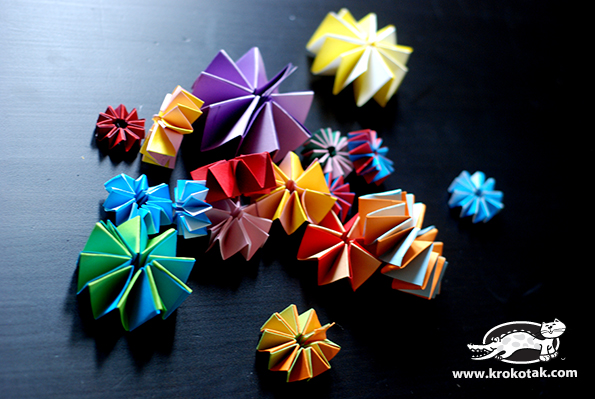 5Flowers with Christmas Lights