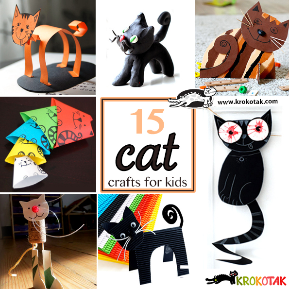 cat kids crafts