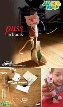 DIY puss in boots