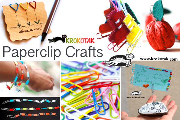 paperclips crafts