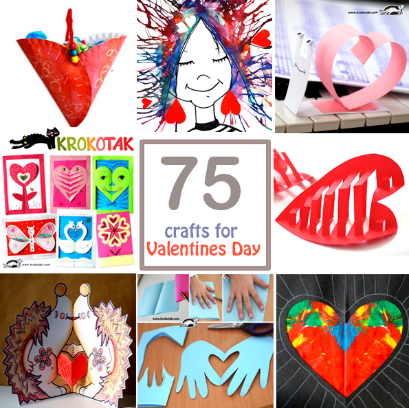 crafts for valentives day