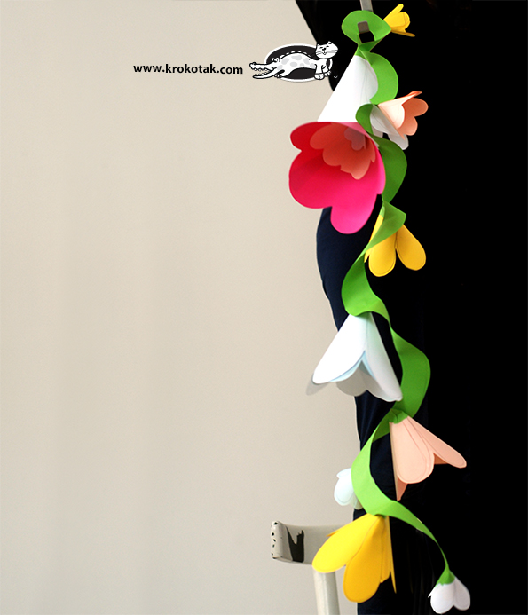Krokotak Diy Flower Garland