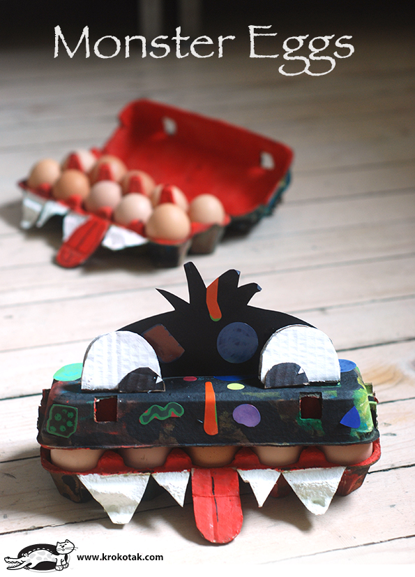 DIY Monster Eggs