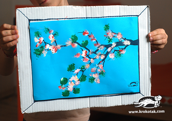 Blossom Tree with Prints