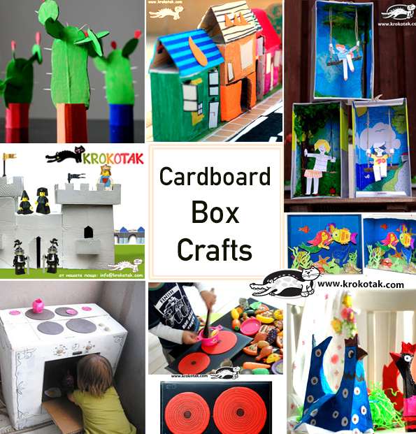 carboard kids crafts