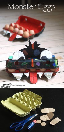 egg craft monster