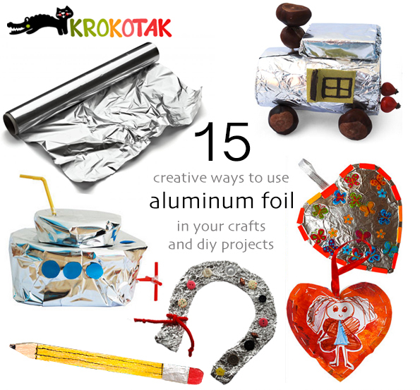 alluminiom foil craft