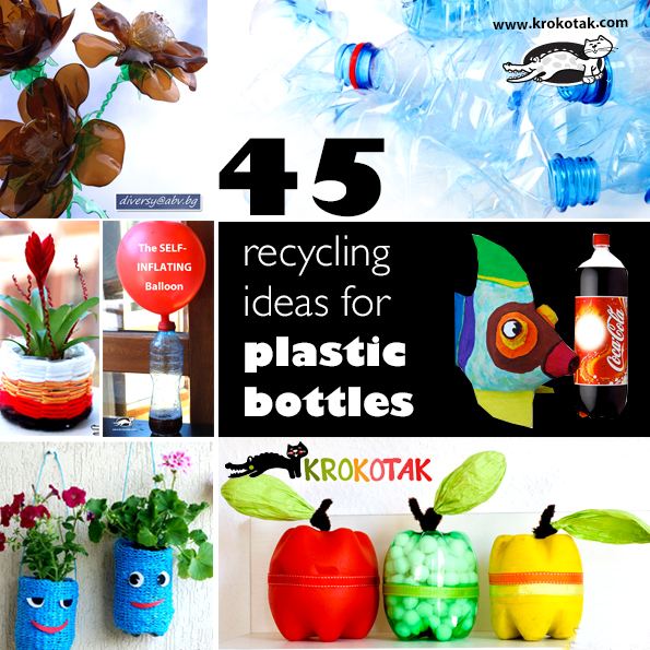 recycling ideas for plastic bottlesbottles