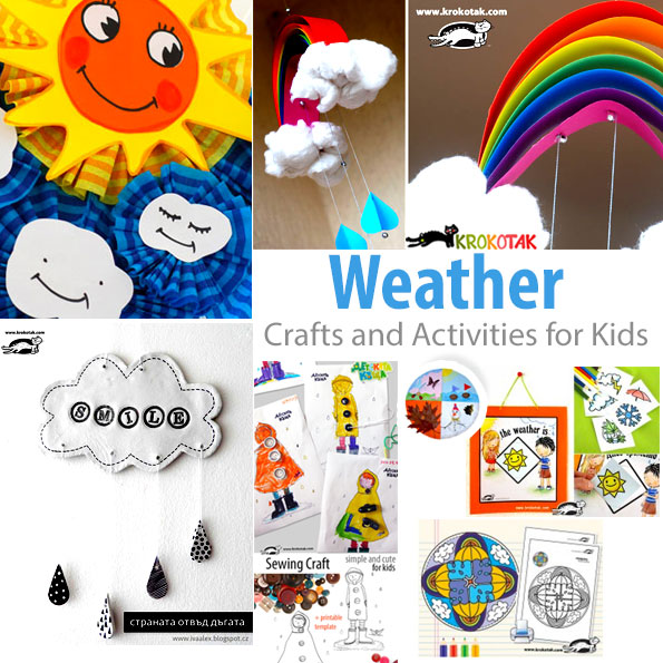 weather kids crafts