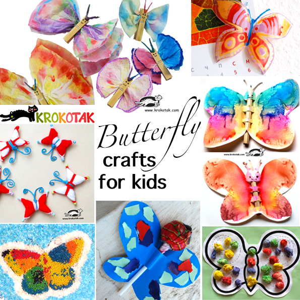 butterflly crafts for kids