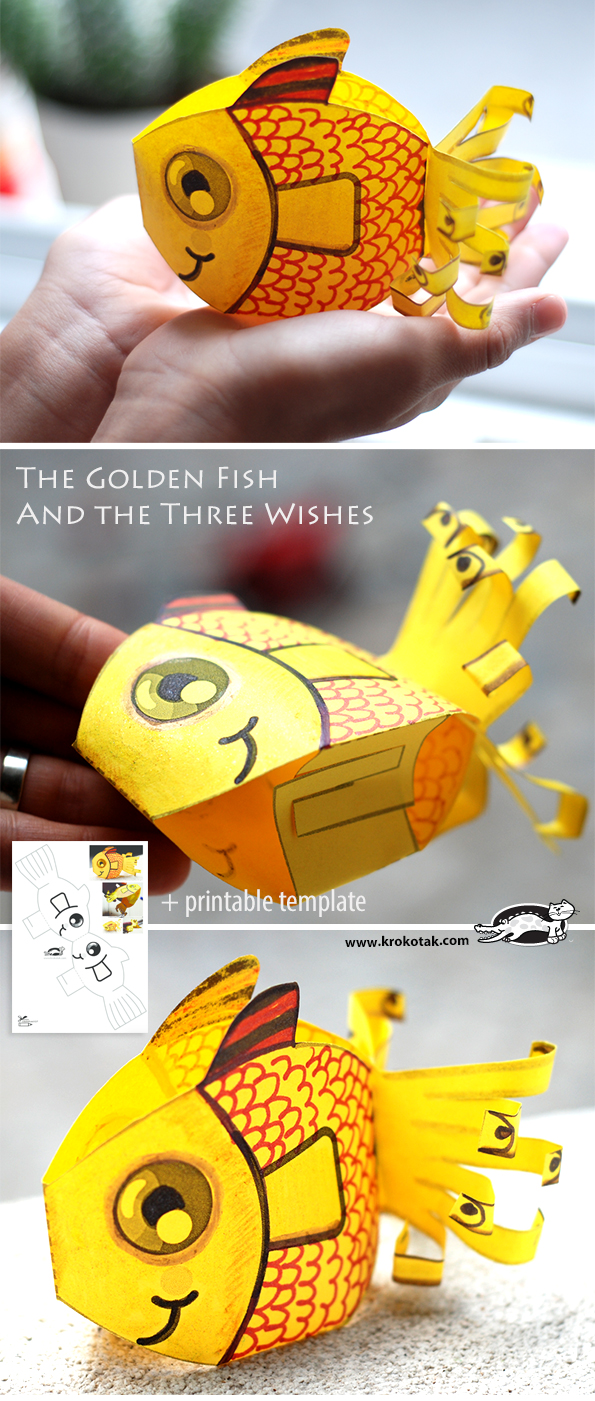 Krokotak The Golden Fish And The Three Wishes
