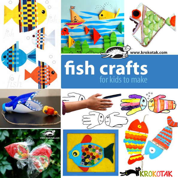 fish kids crafts